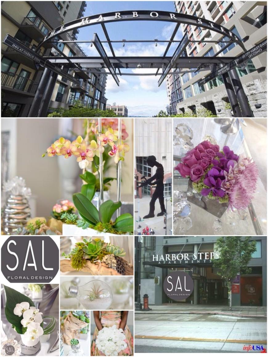 Sal Floral Design @ Harbor Steps